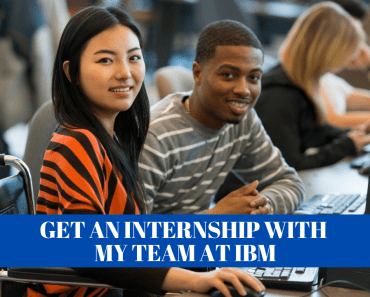 Get an internship at IBM