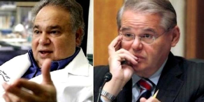 Suspenden en EE.UU a médico acusado en escándalo con Robert Menéndez