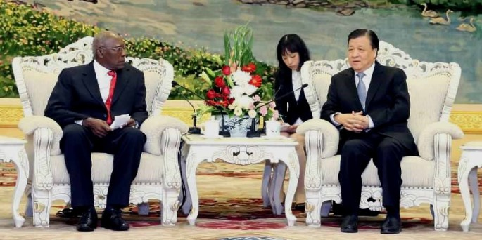 High-ranking Communist Party officials meet in China