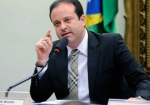 André Moura is described as one of the most corrupt politicians in the country.