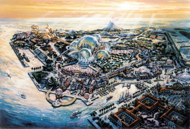 Image result for port disney 1990 brochure