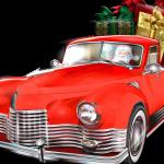 Voiture pere Noel