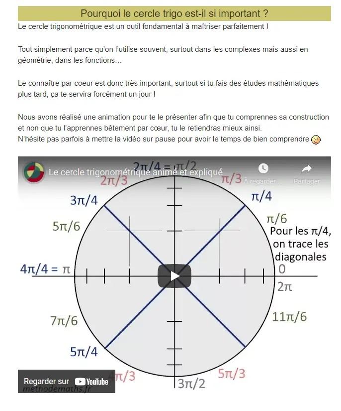 Methode maths