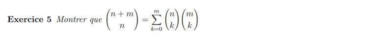 Equation de Vandermonde