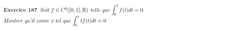 Equation d'intégrale
