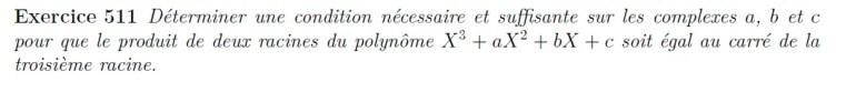 Polynôme et géométrie