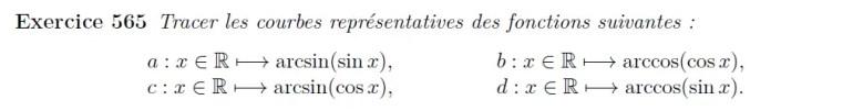 Courbes représentatives - Fonctions usuelles
