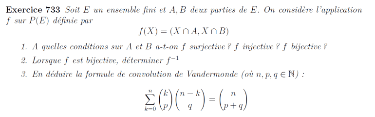 Formule de Vandermonde
