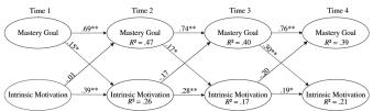 Wat is de relatie tussen leerdoelen en intrinsieke motivatie?