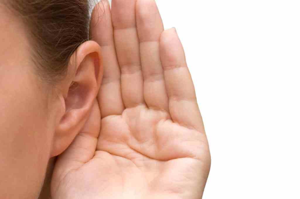 Cliënten luisteren naar zichzelf