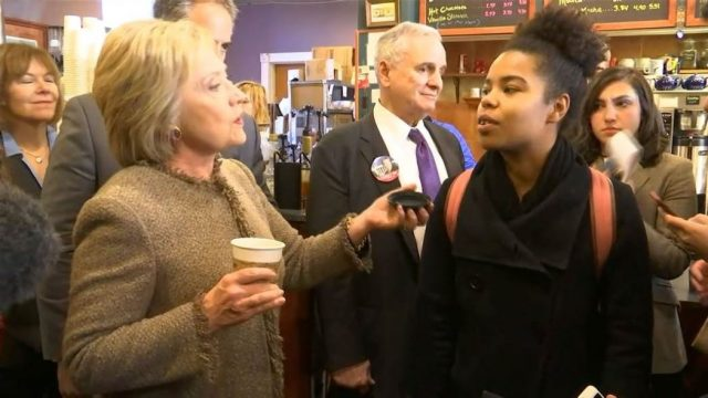 "Somali African Woman Confronts Hillary Clinton About ""Black Superpredators"""