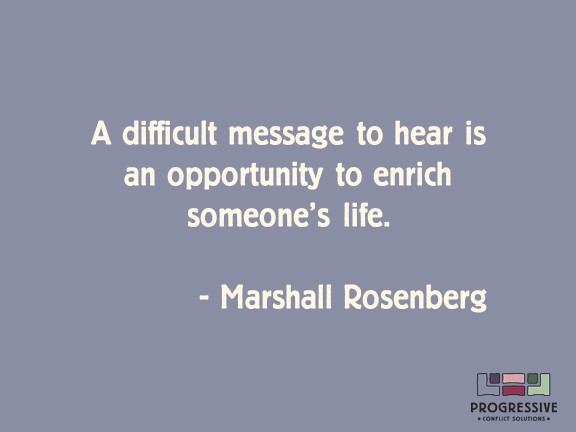 Rosenberg Difficult Message to Hear