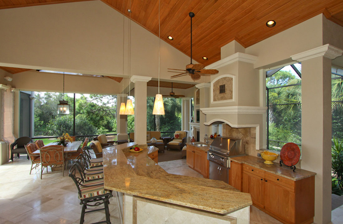 Outdoor Kitchen Remodel Fort Myers FL Progressive Design