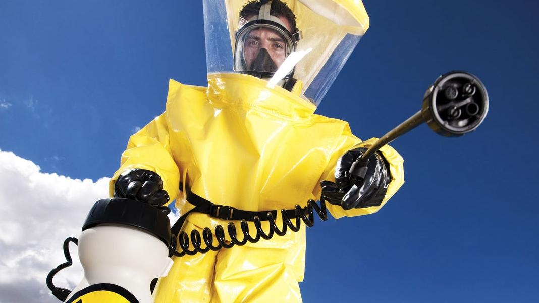 Photo Courtesy of: http://www.strataglass.com/wp-content/uploads/2014/01/Hazmat-Suit.jpg
