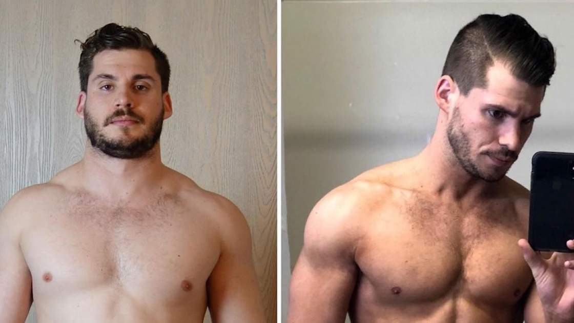 Watch This Man's Weight Loss Journey from 202 Lbs. to 160 Lbs. in Hyperlapse