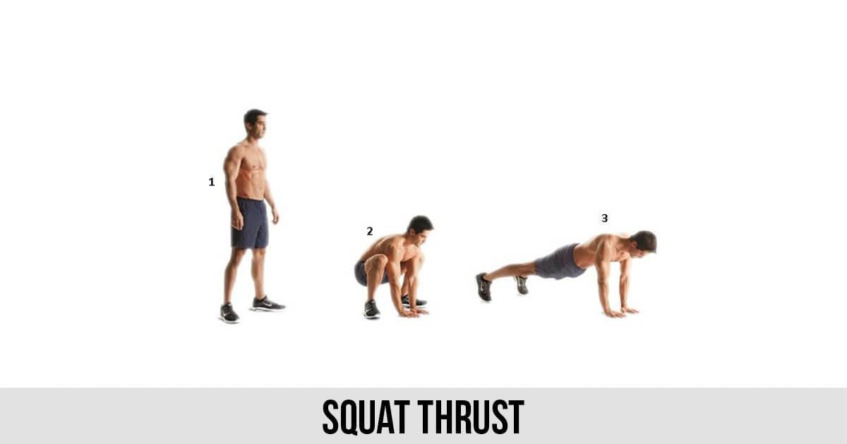 squat thrust fitness