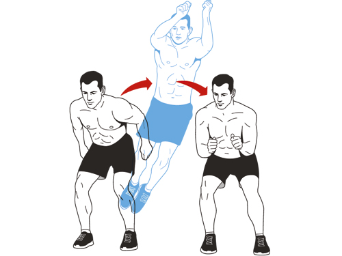 lateral jump squat sports