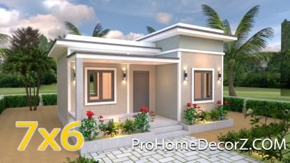 Big Tiny House 7x6 Flat Roof
