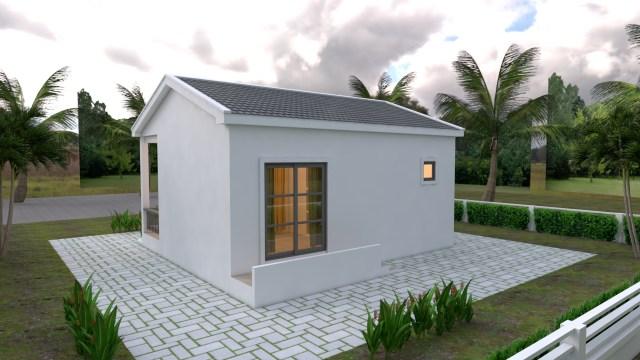 Back Elevation House Plan