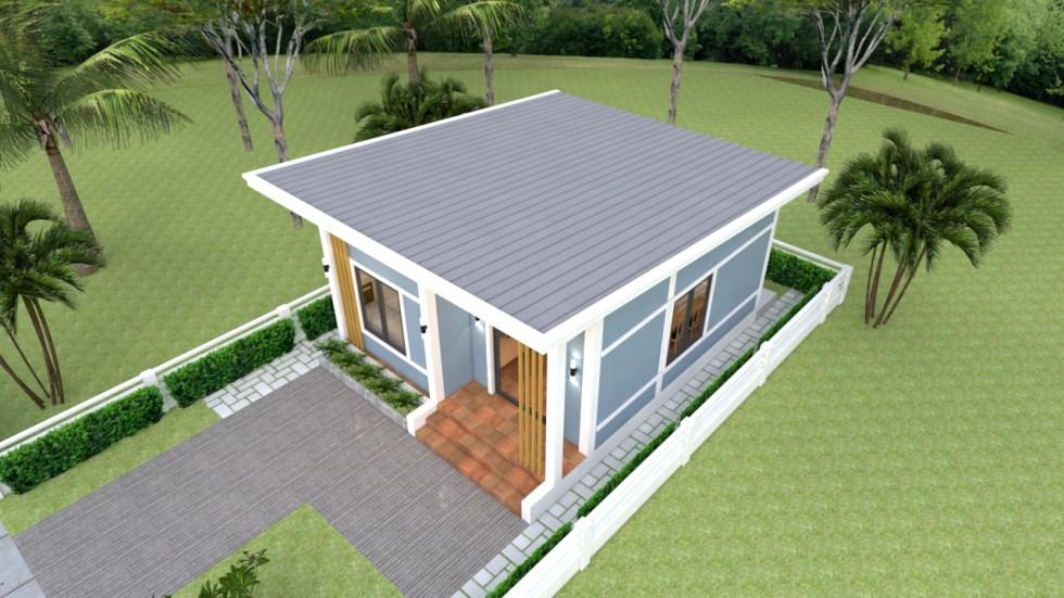 Small Modern Homes 6x7 Meter 20x23 Feet 2 Bedrooms 2