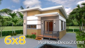 Small Modular Homes 6x8 Meter 20x26 Feet 2 Beds