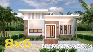 Tiny Home Layouts 8x6 Meter 26x20 Feet 2 Beds