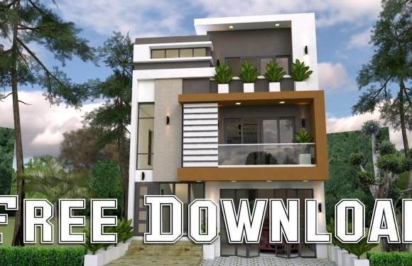 House Plans 8x12M 26x39F