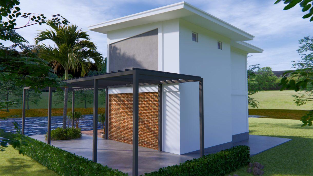 Lake House Plans 13x11 Meter 44x36 Feet 6