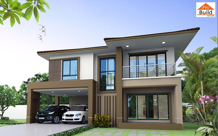 House Plans 13.5x9 with 3 Beds
