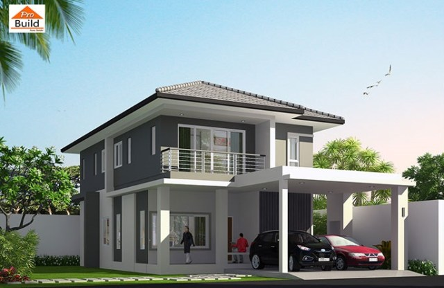 House Plans 8x17.5 with 4 Beds