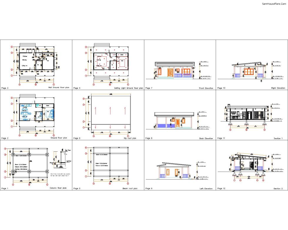 What you will have after buy 32x16 House Plans Shed roof