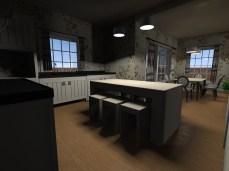 proiecte de casa bucatarie si loc de luat masa