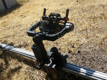 DJI RONIN ON SLIDER
