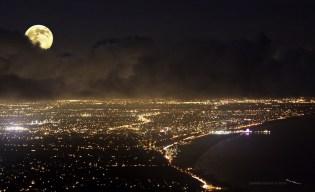 Santa Monica-Night Lights