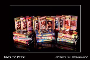 TIMELESS VIDEO PROMOTIONAL MATERIALS