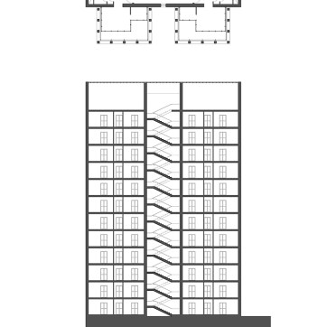 Floor Plan/Section A-A'