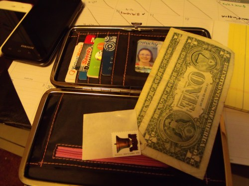 Inside your wallet