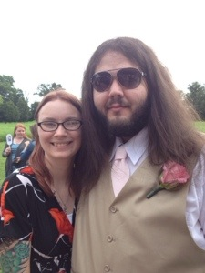 Me & Kyle at a wedding!