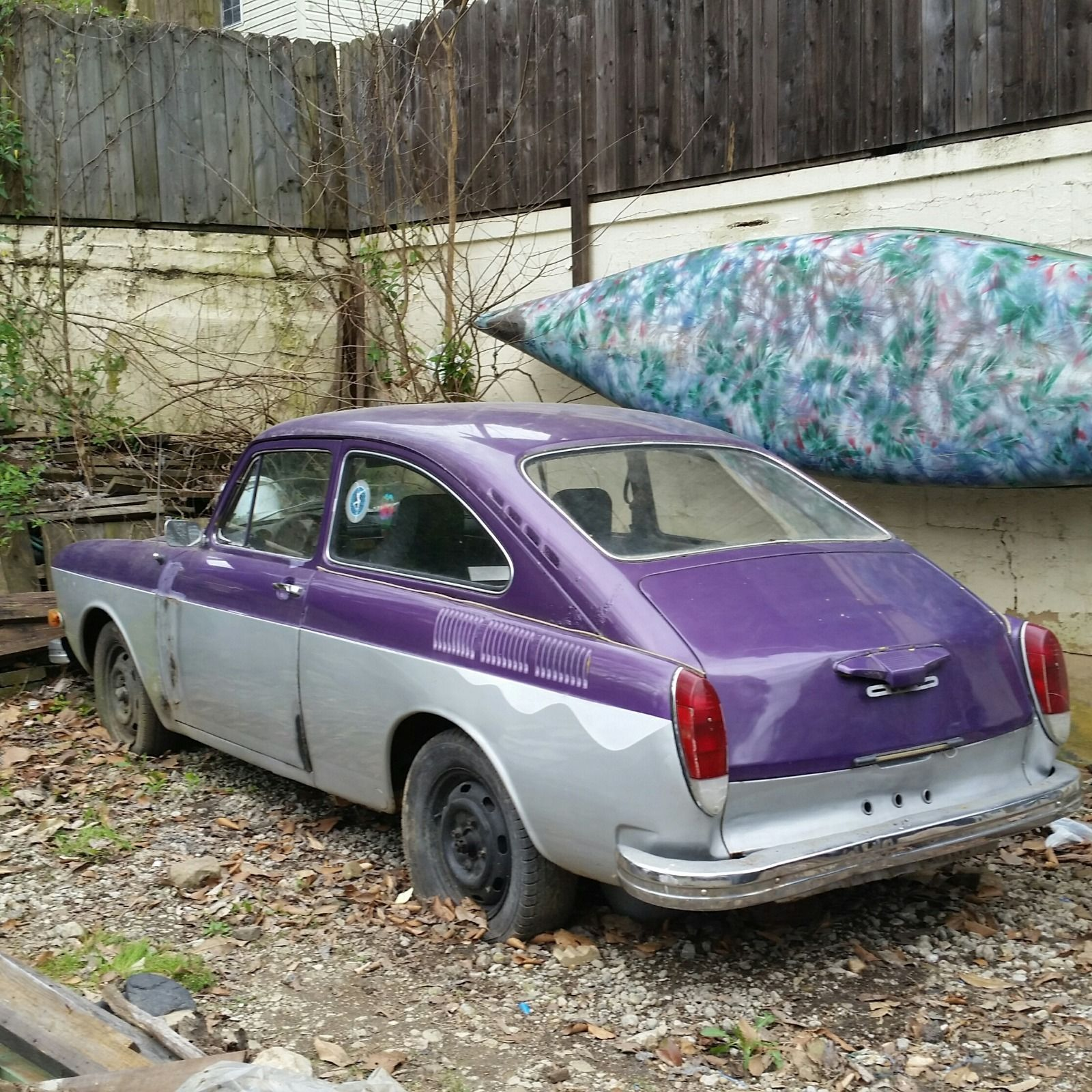 1972 Volkswagen Project Car For Sale