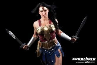 Superhero Creations Wonder Woman Cosplay 1
