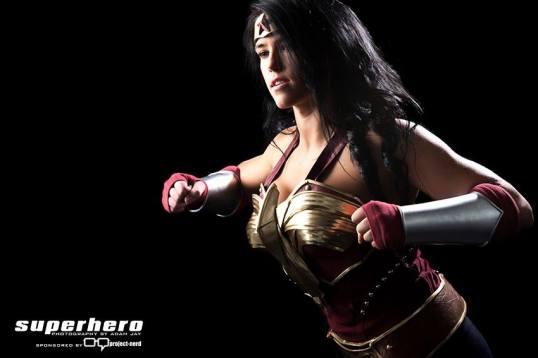 Superhero Creations Wonder Woman Cosplay 5