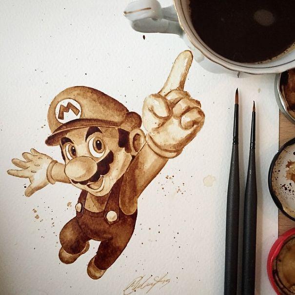 Coffee Art 6