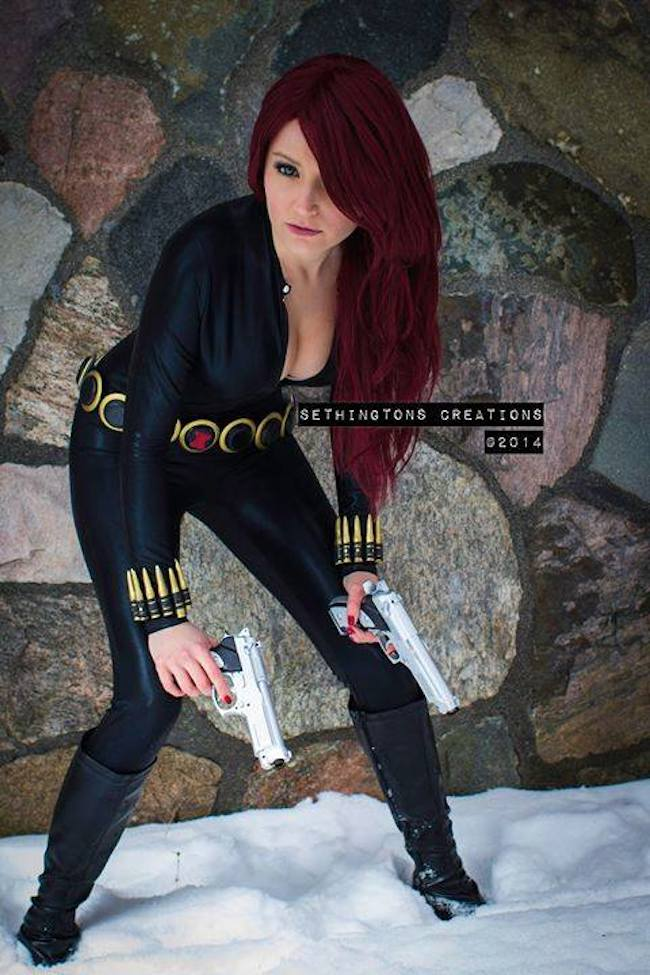 Cosplay Collection Black Widow Pretty Lush