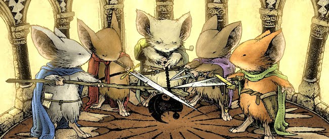 Mouse Guard Comic