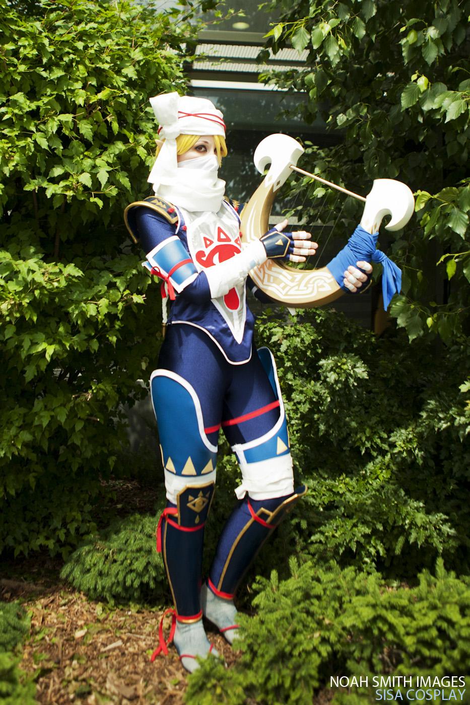 Awesome Sheik Zelda Cosplay Project Nerd