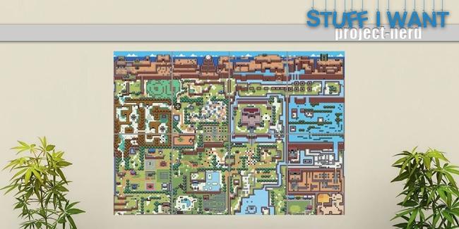 SIW-Nerd-House-Art-Zelda-Map