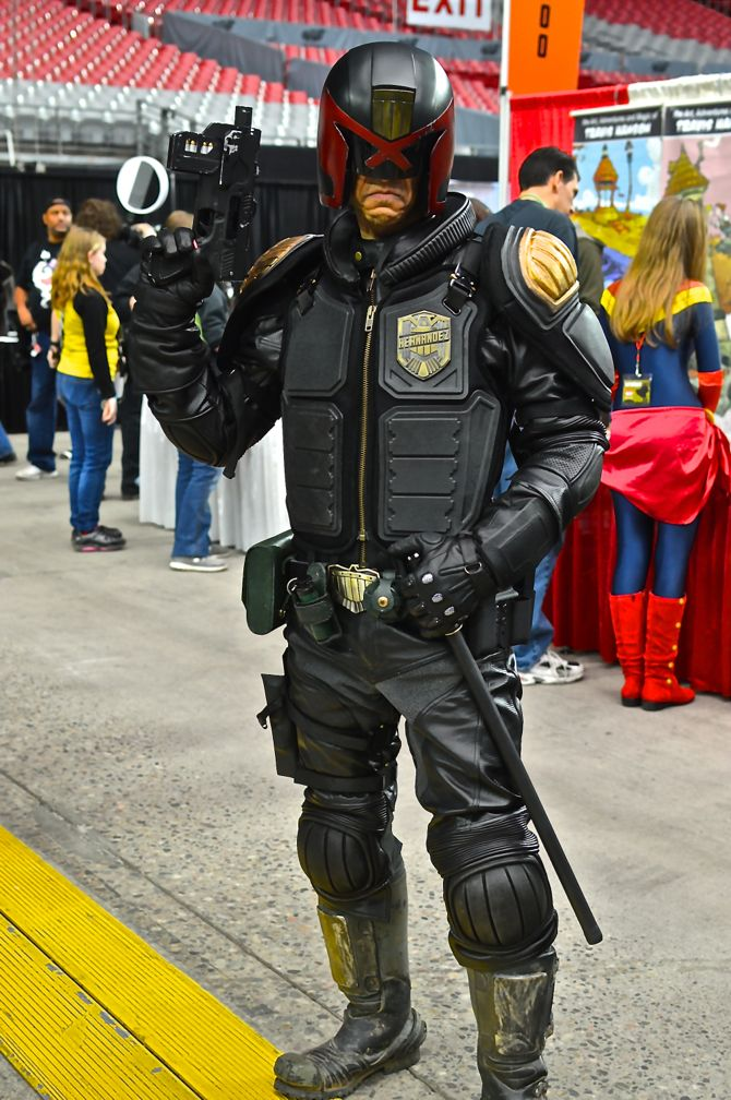 Project-Nerd, Marvel, DC Comics, comics, gaming, cosplay, costuming, cosplayers, over 30 cosplay, Phoenix Comicon Fan Fest, 09