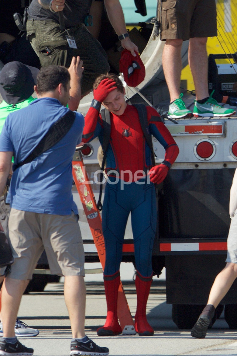 New Spider Man Homecoming Set Pictures Project Nerd
