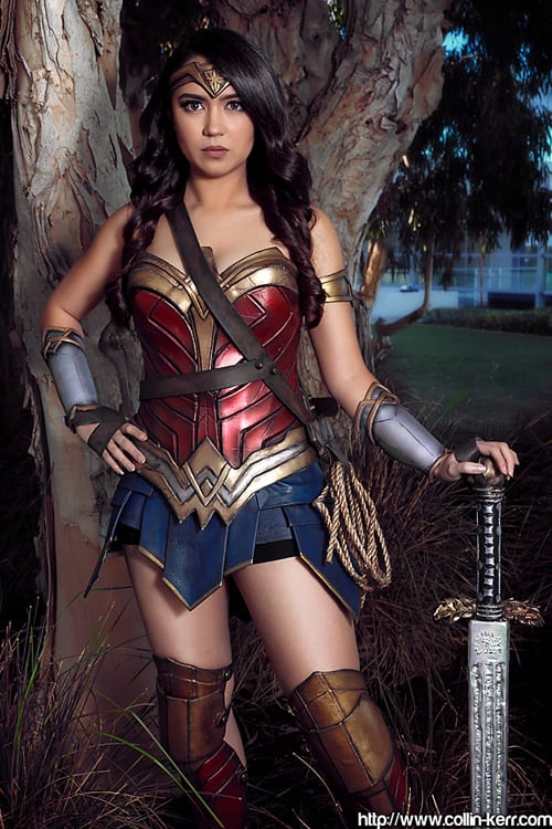 HAnnie Cosplay Wonder Woman 1