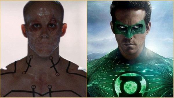 Ryan Reynolds as Deadpool and Green Lantern
